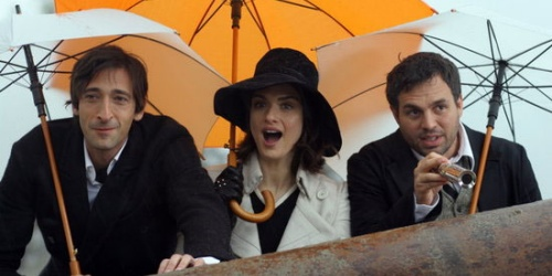 The Brothers Bloom - Adrien Brody, Rachel Weisz, and Mark Ruffalo