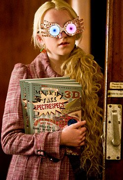 Harry Potter and the Half-Blood Prince - Evanna Lynch as Luna Lovegood