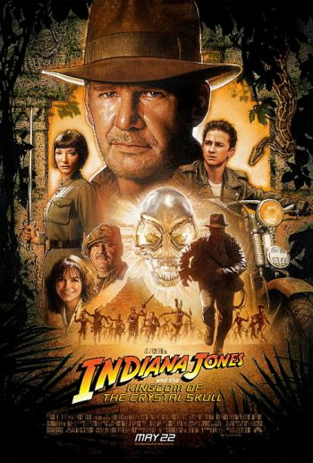 Indiana Jones and the Kingdom of the Crystal Skull - Poster