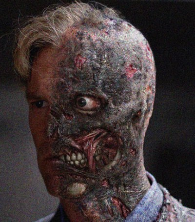 The Dark Knight - Aaron Eckhart as Two-Face
