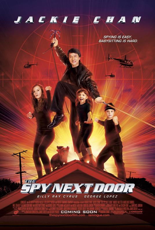 Spy Next Door Poster