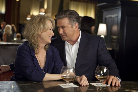 Meryl Streep and Alec Baldwin in It's Complicated