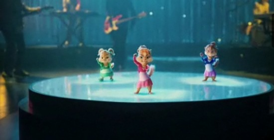 The Chipettes in Alvin and the Chipmunks: The Squeakel