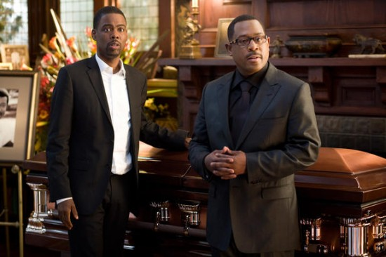 Chris Rock and Martin Lawrence in Death at Funeral