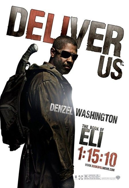 Denzel Washington - Book of Eli poster