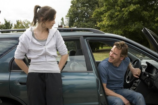 Katie Jarvis and Michael Fassbender in Fish Tank