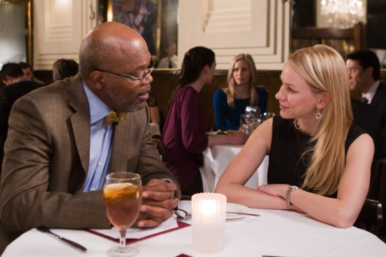 Samuel L. Jackson and Naomi Watts in Mother & Child