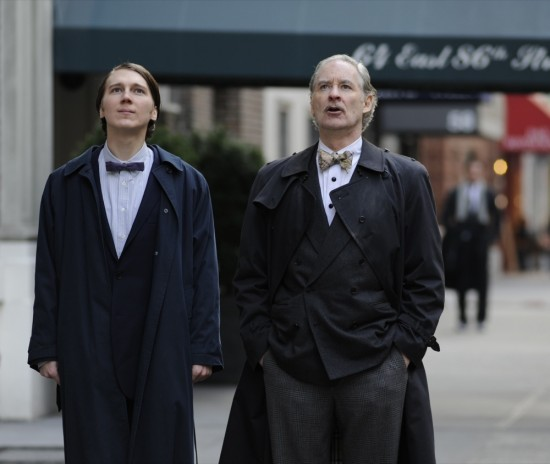 Paul Dano and Kevin Kline in The Extra Man