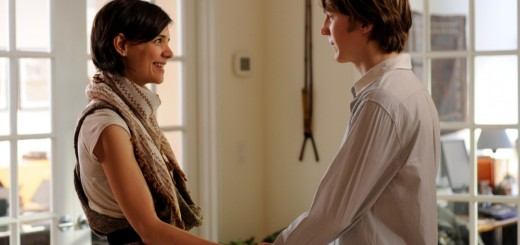 Katie Holmes and Paul Dano in The Extra Man