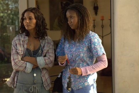 Salli Richardson-Whitfield and Tracie Thoms in I Will Follow