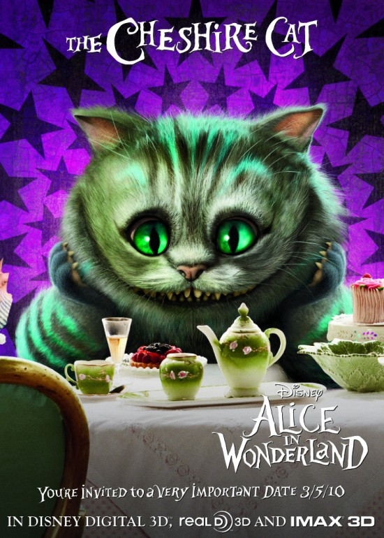 Alice in Wonderland - The Cheshire Cat poster
