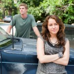 Liam Hemsworth and Miley Cyrus in THE LAST SONG