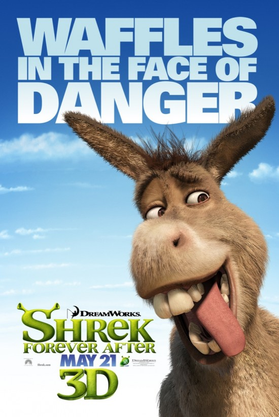 Shrek Forever After - Donkey poster