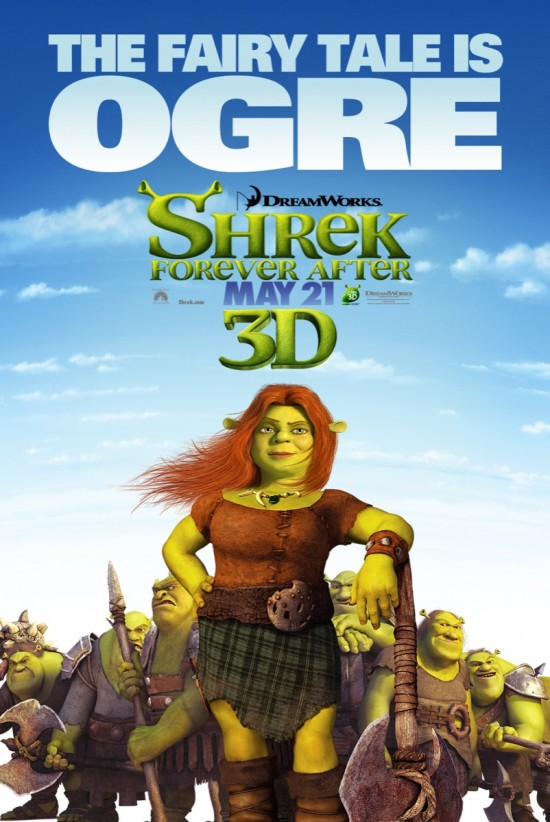 Shrek Forever After - Fiona poster