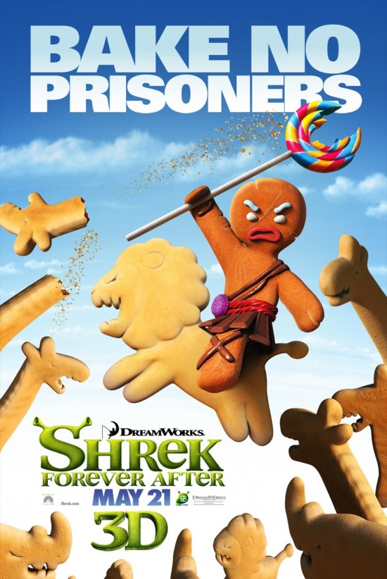 Shrek Forever After - Gingy poster