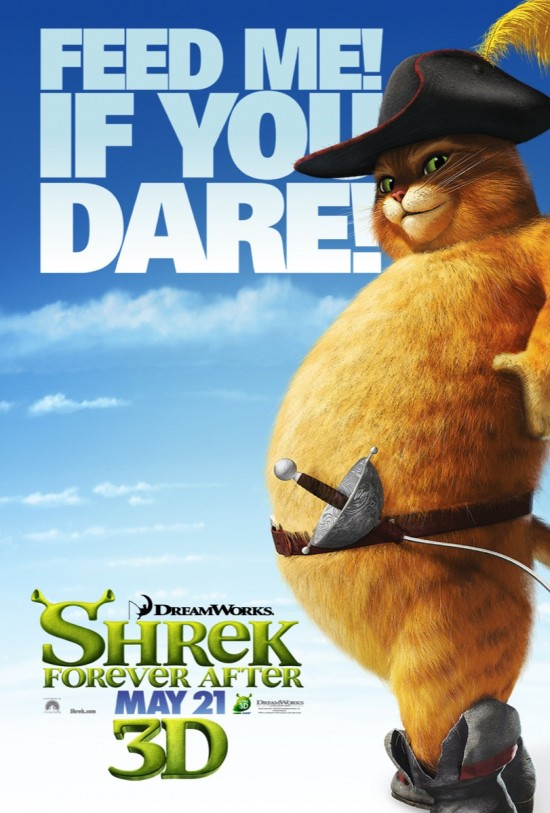 Shrek Forever After - Puss poster