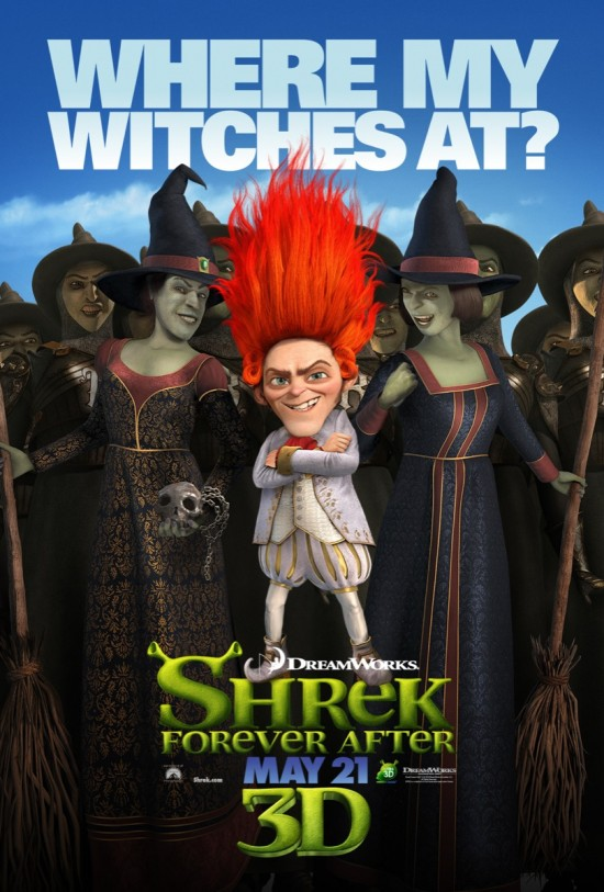 Shrek Forever After - Rumple poster