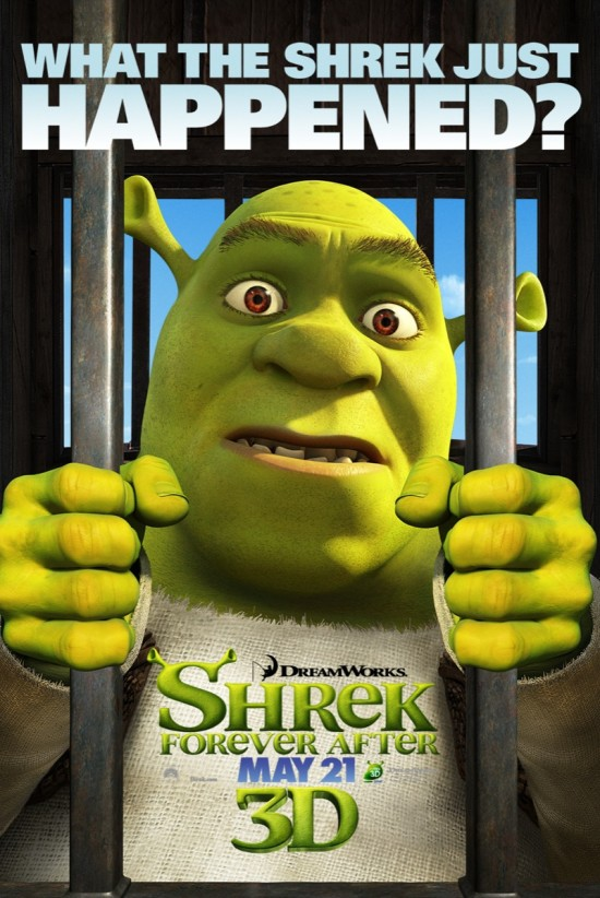 Shrek Forever After - Shrek poster