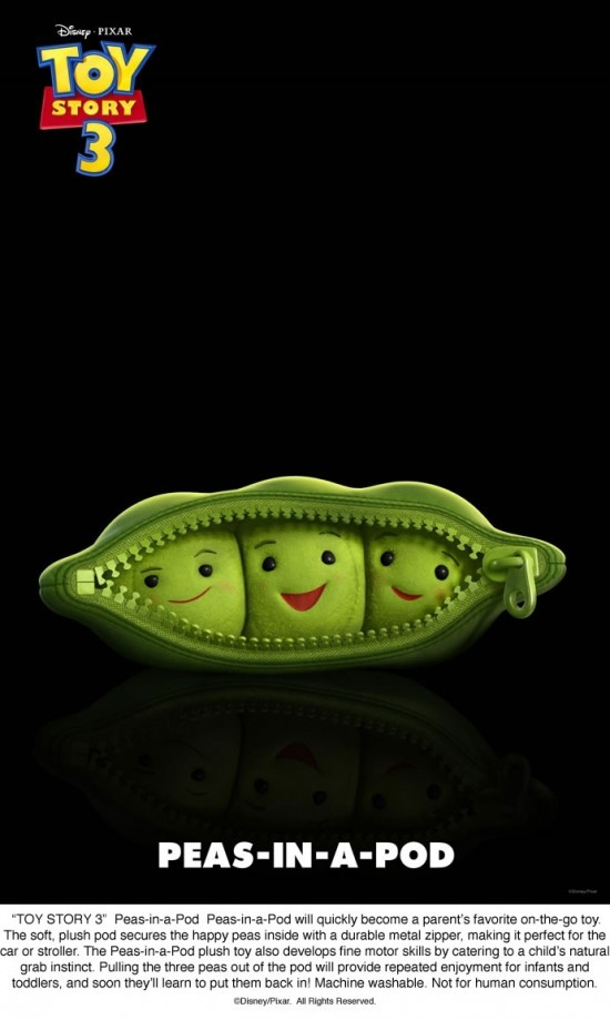 Toy Story 3 - Peas-in-a-Pod