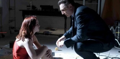 Christina Ricci and Liam Neeson in After.Life