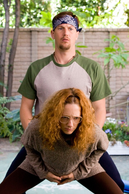 Patrick Wilson and Judy Greer in Barry Munday