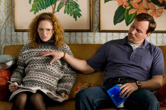 Judy Greer and Patrick Wilson in Barry Munday
