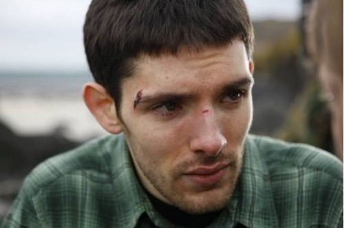 Check out Colin Morgan in a couple of photos from the movie ISLAND