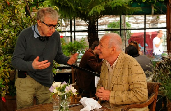Woody Allen and Anthony Hopkins - You Will Meet A Tall Dark Stranger