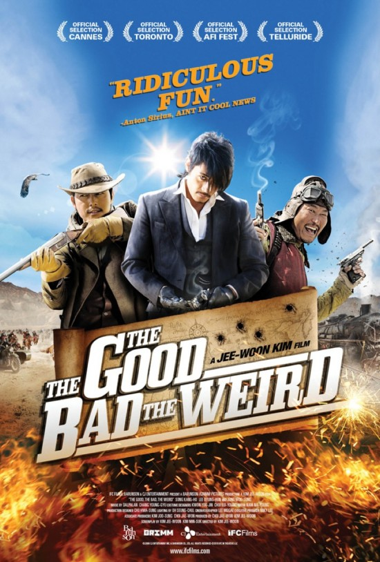 The Good, The Bad, The Weird movie poster