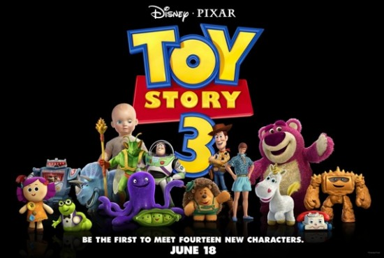 Toy Story 3 poster (All new characters)