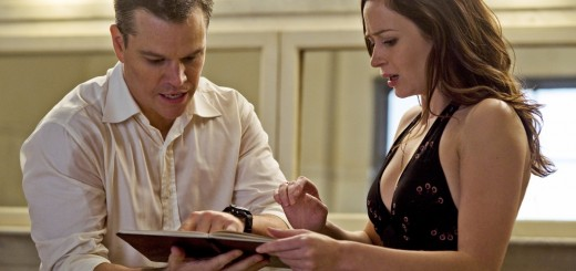 Matt Damon and Emily Blunt in The Adjustment Bureau movie