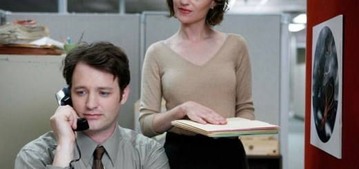 Angela Bettis and Jonathan M. Woodward in Drones