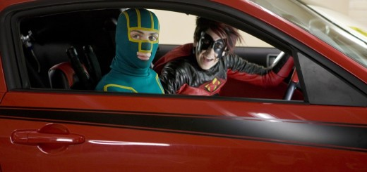 Aaron Johnson and Christopher Mintz-Plasse in Kick-Ass movie