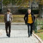 Jesse Eisenberg and Michael Douglas in Solitary Man