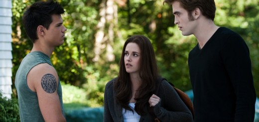 Kristen Stewart, Robert Pattinson, Taylor Lautner in The Twilight Saga: Eclipse movie