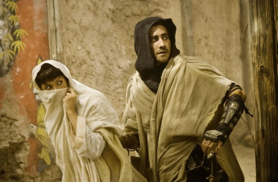 Jake Gyllenhaal and Gemma Arterton in PRINCE OF PERSIA
