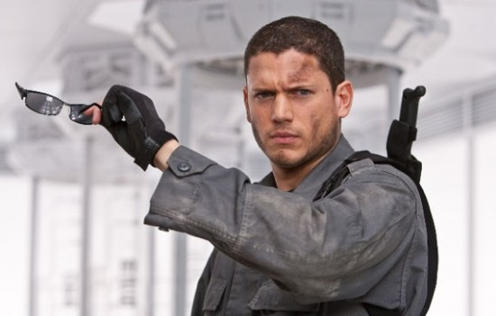 Wentworth-Miller as Chris Redfield