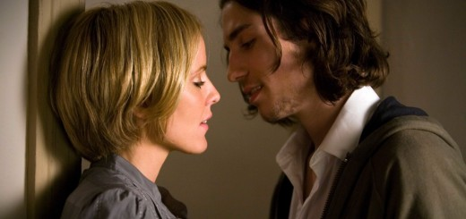 Emma Caulfield and John Patrick Amedori in TiMER movie