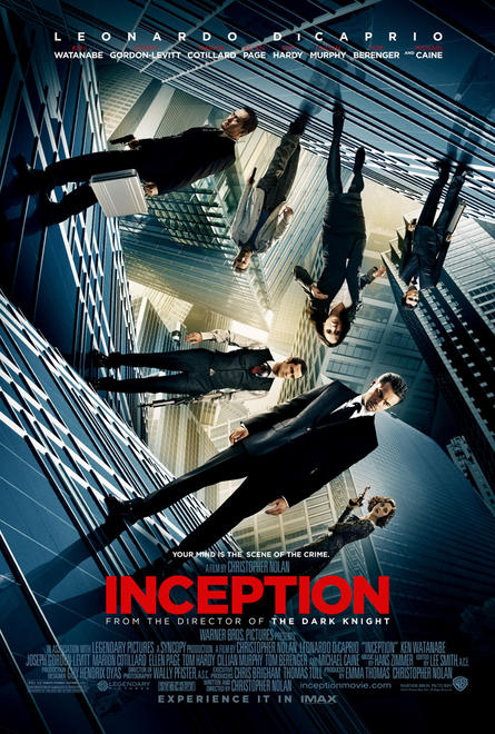 Inception IMAX movie poster