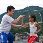 Jackie Chan and Jaden Smith in The Karate Kid movie