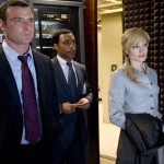 Liev Schreiber, Chiwetel Ejiofor, Angelina Jolie in Salt movie