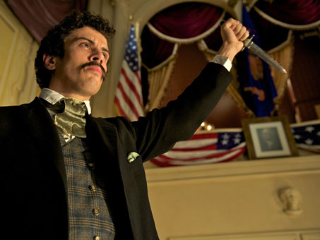 Toby Kebbell as John Wilkes - The Conspirator movie