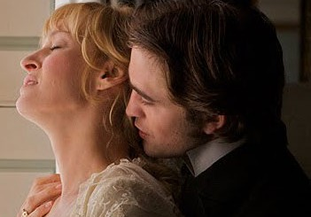 Uma Thurman and Robert Pattinson in Bel Ami movie