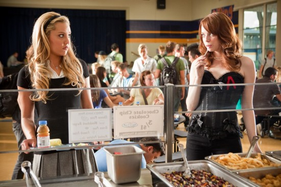 Easy A Movie With Amanda Bynes and Emma Stone