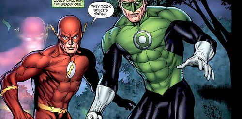GREEN LANTERN 2 & THE FLASH