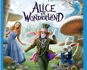 Alice in Wonderland - 3-disc combo