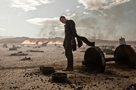 PRIEST Movie photo with Paul Bettany