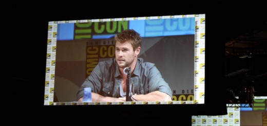 Chris Hemsworth Thor Comic Con 2010
