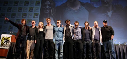 The Avengers Cast - Comic Con 2010