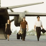 Jessica Chastain, Sam Worthington, and Marton Csokas in THE DEBT
